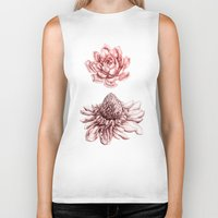 blush Biker Tanks featuring First Blush by Miranda Montes
