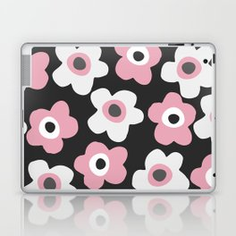 White and pink flowers Laptop & iPad Skin