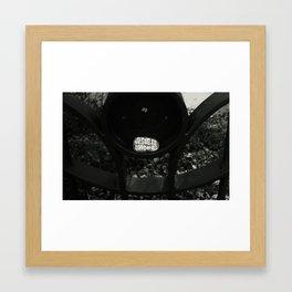 Solid faith Framed Art Print