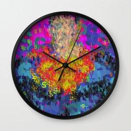 Superhero Type Art Comics SM Wall Clock