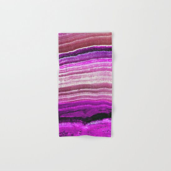 Purple onyx Hand & Bath Towel