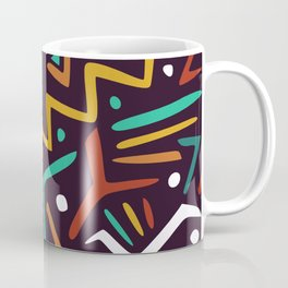 Fun abstract festive pattern Coffee Mug
