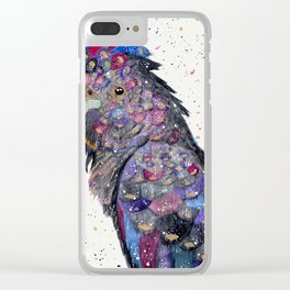 Galaxy Cockatoo Clear iPhone Case