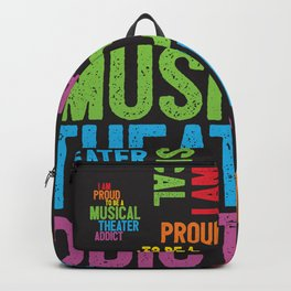 Musical Theater Pride Backpack
