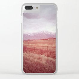 Beautiful journey Clear iPhone Case