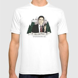 Twin Peaks (David Lynch) Agent Dale Cooper T-shirt