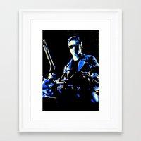 terminator Framed Art Prints featuring Terminator  by Pop Artist