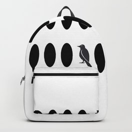 birds on the line Backpack