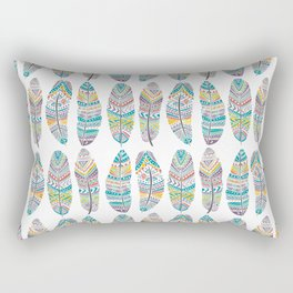 Amazon Feathers Rectangular Pillow