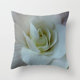 Bounteous Begonia Throw Pillow