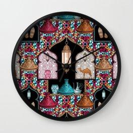 Marrakech Night Wall Clock