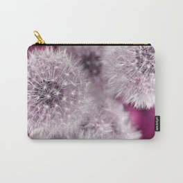 Dandelion pink Carry-All Pouch