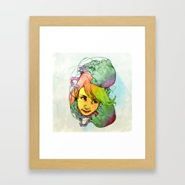 Jelly Jolly Framed Art Print