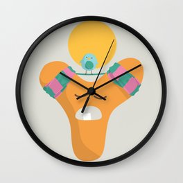 Letter Y Wall Clock