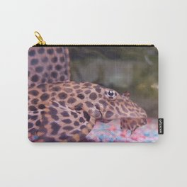 Photo Pleco Leopard Carry-All Pouch