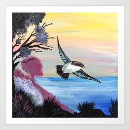 A Birds View Art Print