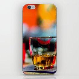 Lipstick Whiskey Neat iPhone Skin