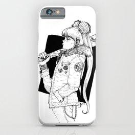 Bad Usagi - Sailor Moon Fanart iPhone Case