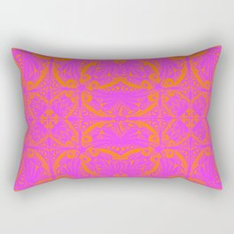 Retro Graphic Rectangular Pillow