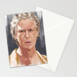 Carol Peletier Walking Dead Stationery Cards