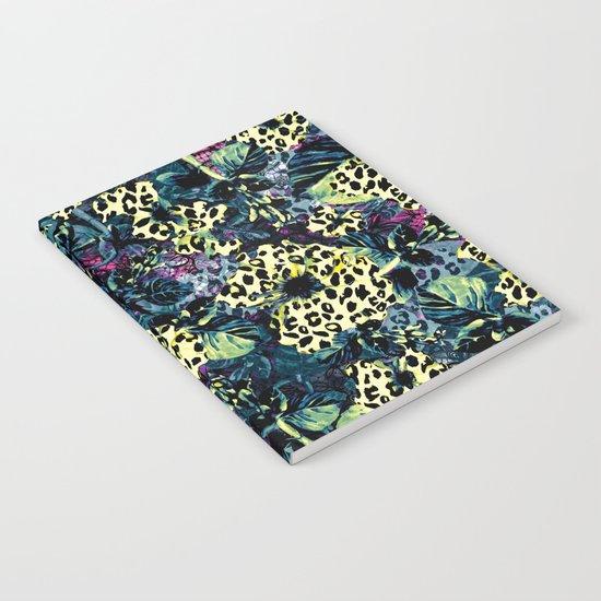 Golden Flowers II Notebook