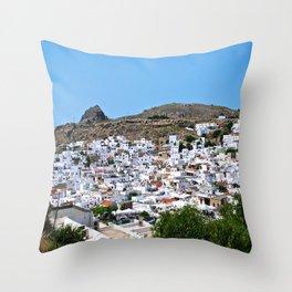 Lindos Throw Pillow