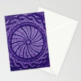Ultra Violet Stone Tiles 18-3838 Stationery Cards