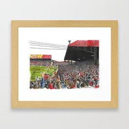 LAST EVER GOAL Framed Art Print