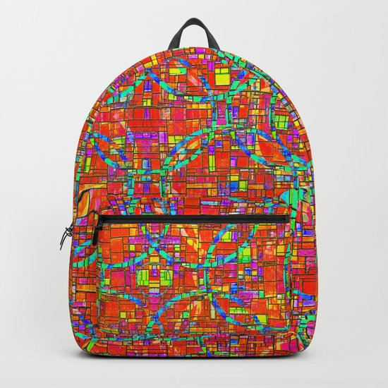 Verre Colore Pattern Backpack