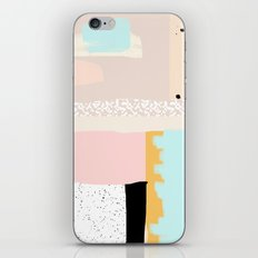 On the wall#3 iPhone & iPod Skin
