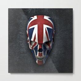 British horror Metal Print