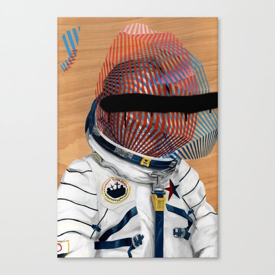 Spaceman No:2 Canvas Print