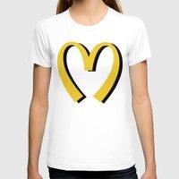 moschino T-shirts featuring McDonald's MOSCHINO by RickyRicardo787