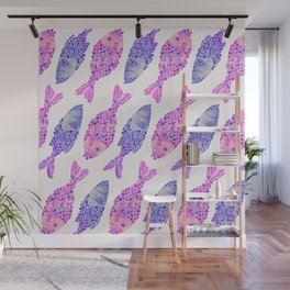 Indonesian Fish Duo – Mermaid Palette Wall Mural