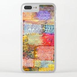 Paul Klee Villa Fiorentino Clear iPhone Case