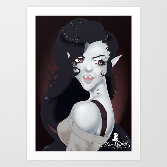 Vampire Queen Marceline Art Print