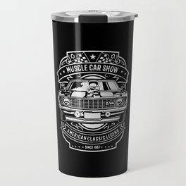 muscle car show american classic legend Travel Mug