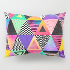 Quirky Triangles Pillow Sham