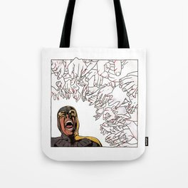 Ability to inflict papercuts with mind Tote Bag