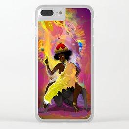 Nzinga Mbande Clear iPhone Case