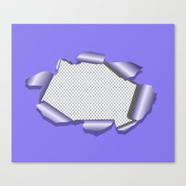 PLACEHOLDER Canvas Print