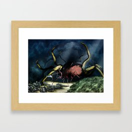 Deep Horror Framed Art Print