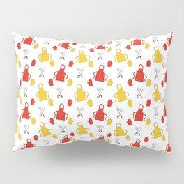 Apron - BBQ Doodle Pattern Pillow Sham