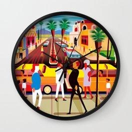 Palm Desert Wall Clock