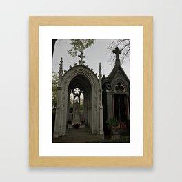 The Grey Grandeur Framed Art Print