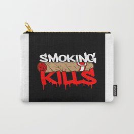 Anti Smoking Smoker Carry-All Pouch