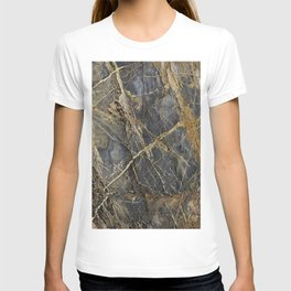 Natural Geological Pattern Rock Texture T-shirt