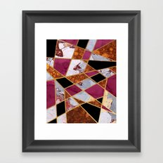 Abstract #448 Framed Art Print
