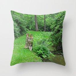 Conscious Calm Throw Pillow