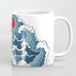 The Second Great Wave Coffee Mug